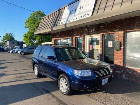 2006 Subaru Forester for sale at M&M Auto Sales in Portland OR