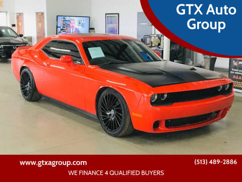 2015 Dodge Challenger for sale at GTX Auto Group in West Chester OH