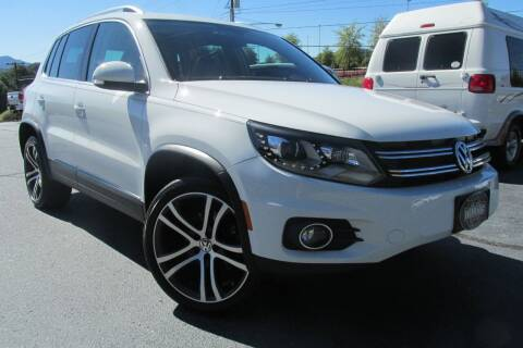 2017 Volkswagen Tiguan for sale at Tilleys Auto Sales in Wilkesboro NC