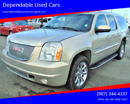 2007 GMC Yukon XL for sale at Dependable Used Cars in Anchorage AK