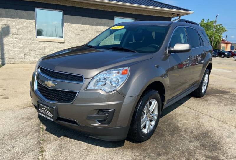 2012 Chevrolet Equinox for sale at Auto House of Bloomington in Bloomington IL