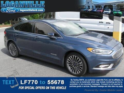 2018 Ford Fusion Hybrid for sale at Loganville Quick Lane and Tire Center in Loganville GA