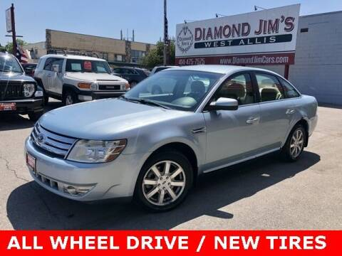 2008 Ford Taurus for sale at Diamond Jim's West Allis in West Allis WI