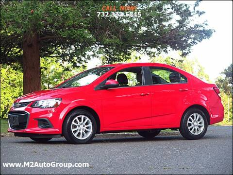 2017 Chevrolet Sonic for sale at M2 Auto Group Llc. EAST BRUNSWICK in East Brunswick NJ