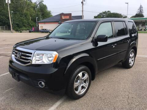 2013 Honda Pilot for sale at Borderline Auto Sales in Loveland OH