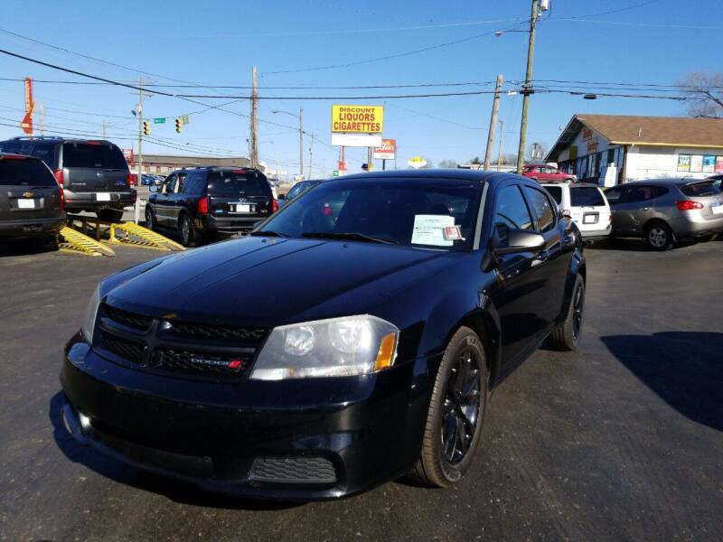 2014 Dodge Avenger for sale at Rucker's Auto Sales Inc. in Nashville TN