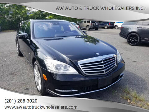 2012 Mercedes-Benz S-Class for sale at AW Auto & Truck Wholesalers  Inc. in Hasbrouck Heights NJ
