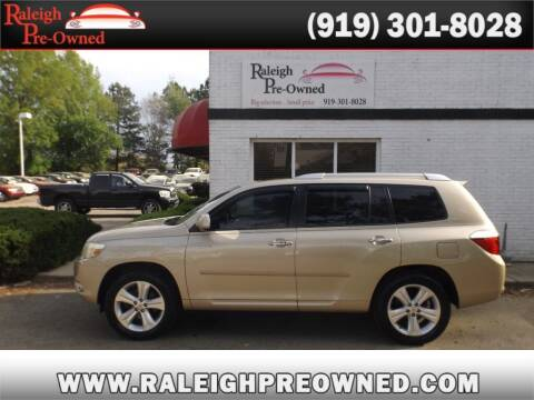 2008 Toyota Highlander for sale at Raleigh Pre-Owned in Raleigh NC