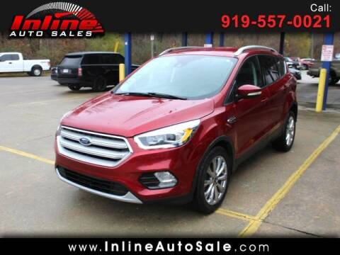 2017 Ford Escape for sale at Inline Auto Sales in Fuquay Varina NC