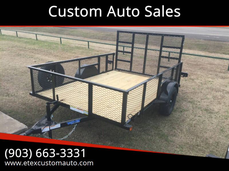 2021 Top Hat 7x10 Utility Trailer for sale at Custom Auto Sales - TRAILERS in Longview TX