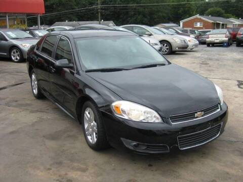 2011 Chevrolet Impala for sale at LAKE CITY AUTO SALES in Forest Park GA