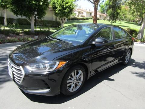 2018 Hyundai Elantra for sale at E MOTORCARS in Fullerton CA