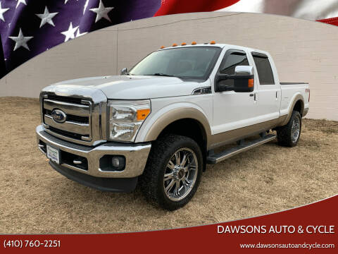 2011 Ford F-350 Super Duty for sale at Dawsons Auto & Cycle in Glen Burnie MD
