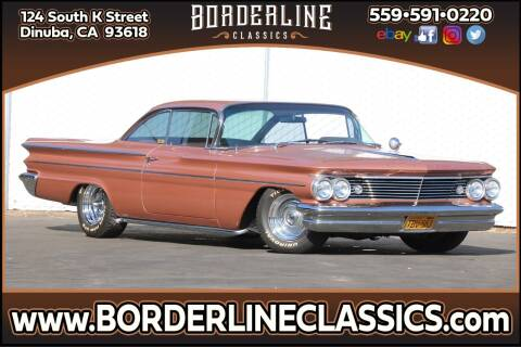 1960 Pontiac Catalina for sale at Borderline Classics - Kearney Collection in Dinuba CA