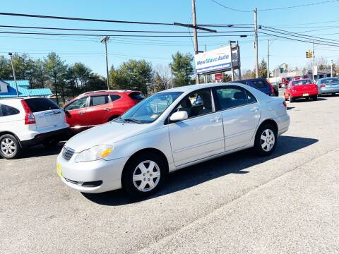 2005 Toyota Corolla for sale at New Wave Auto of Vineland in Vineland NJ