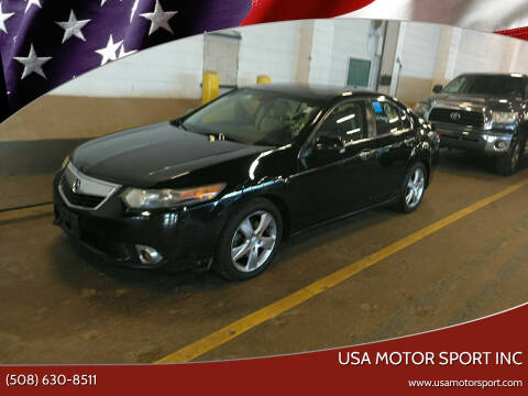 2012 Acura TSX for sale at USA Motor Sport inc in Marlborough MA