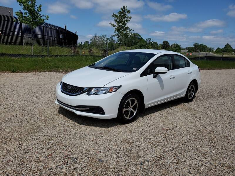 2015 Honda Civic for sale at Dreams Auto Group LLC in Sterling VA