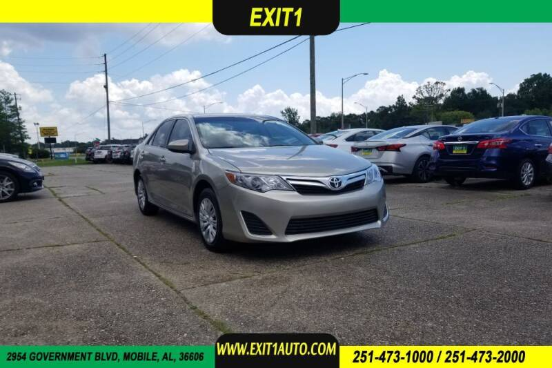 2013 Toyota Camry for sale at Exit 1 Auto in Mobile AL