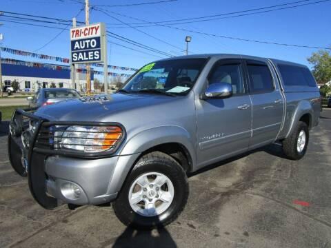 2006 Toyota Tundra for sale at TRI CITY AUTO SALES LLC in Menasha WI