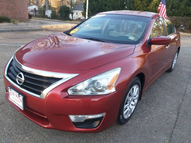 2013 Nissan Altima for sale at Hilton Motors Inc. in Newport News VA