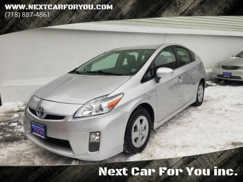 2010 Toyota Prius for sale at Next Car For You inc. in Brooklyn NY