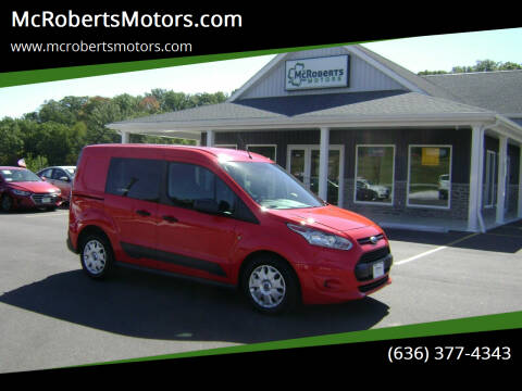 2016 Ford Transit Connect Cargo for sale at McRobertsMotors.com in Warrenton MO