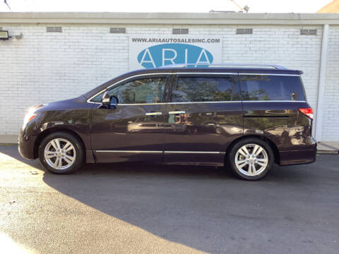 2011 Nissan Quest for sale at ARIA  AUTO  SALES in Raleigh NC