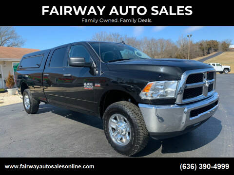 2016 RAM Ram Pickup 2500 for sale at FAIRWAY AUTO SALES in Washington MO