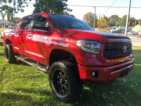 2019 Toyota Tundra for sale at Creekside Automotive in Lexington NC