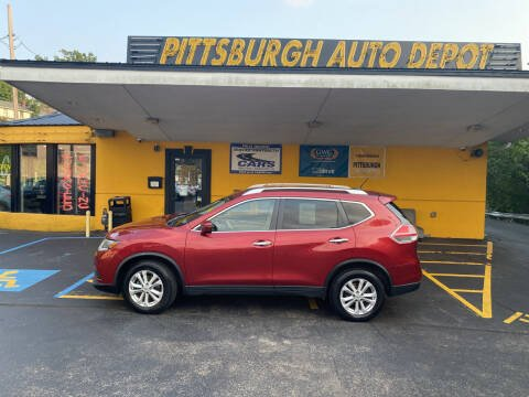 2016 Nissan Rogue for sale at Pittsburgh Auto Depot in Pittsburgh PA