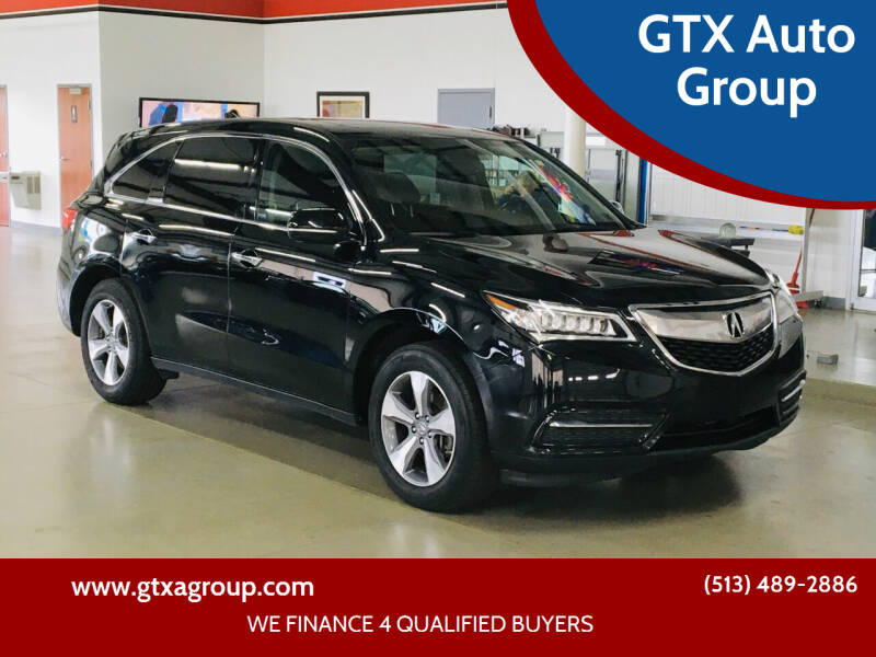 2015 Acura MDX for sale at GTX Auto Group in West Chester OH
