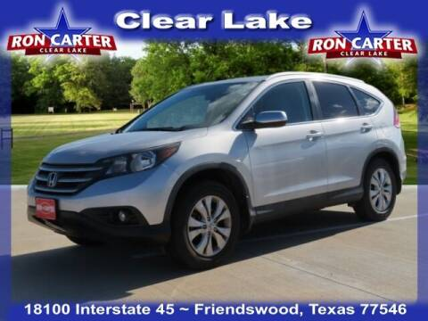 2012 Honda CR-V for sale at Ron Carter  Clear Lake Used Cars in Houston TX