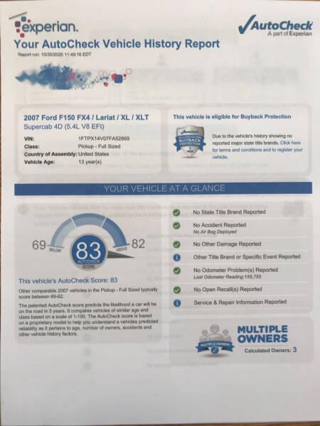 2007 Ford F-150 XLT 4dr SuperCab 4WD Styleside 5.5 ft. SB - Lawrence KS