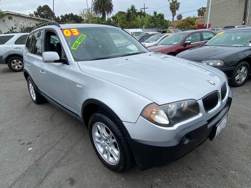 2004 BMW X3 for sale at North County Auto in Oceanside CA