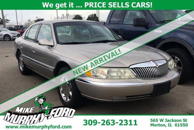 2002 Lincoln Continental for sale at Mike Murphy Ford in Morton IL