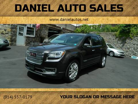 2015 GMC Acadia for sale at Daniel Auto Sales in Yonkers NY