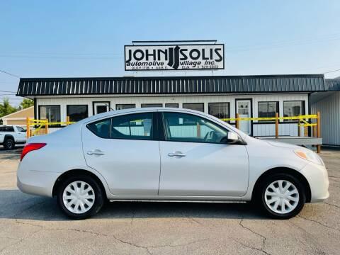 2012 Nissan Versa for sale at John Solis Automotive Village in Idaho Falls ID