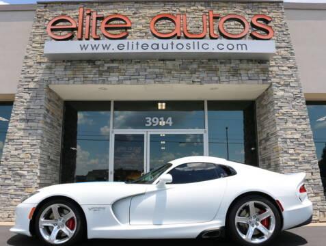 2015 Dodge Viper for sale at Elite Autos LLC in Jonesboro AR