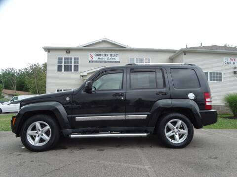 2009 Jeep Liberty for sale at SOUTHERN SELECT AUTO SALES in Medina OH