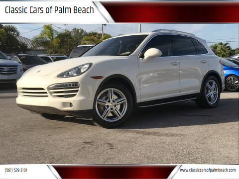 2012 Porsche Cayenne for sale at Classic Cars of Palm Beach in Jupiter FL