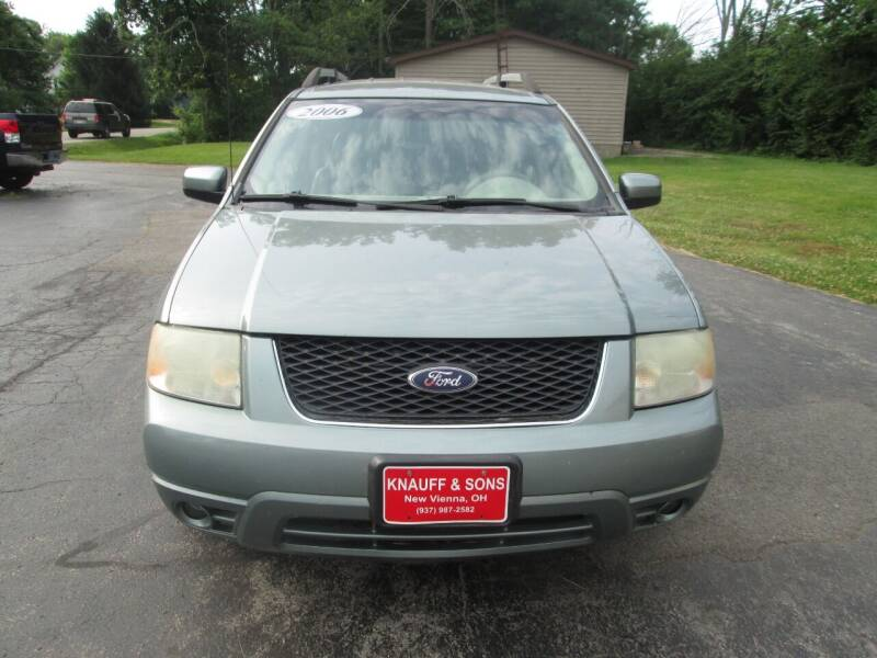 2006 Ford Freestyle for sale at Knauff & Sons Motor Sales in New Vienna OH