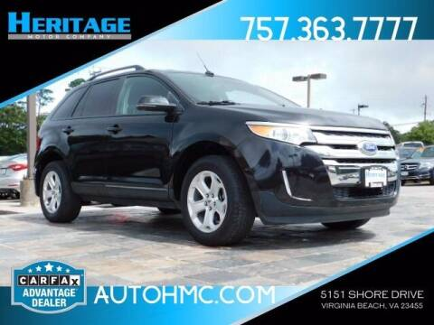 2014 Ford Edge for sale at Heritage Motor Company in Virginia Beach VA