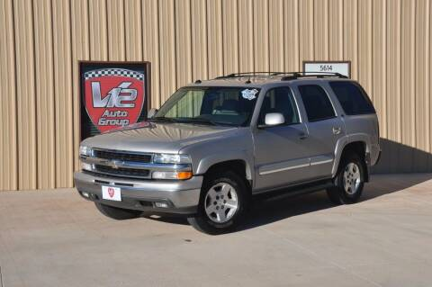 2004 Chevrolet Tahoe for sale at V12 Auto Group in Lubbock TX