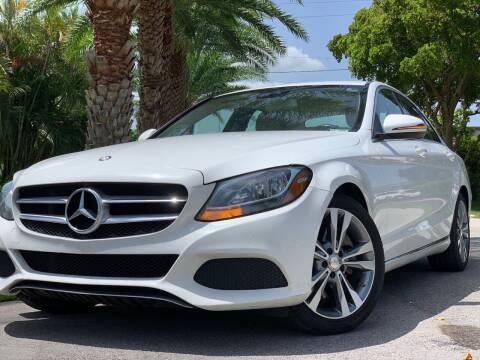 2016 Mercedes-Benz C-Class for sale at HIGH PERFORMANCE MOTORS in Hollywood FL