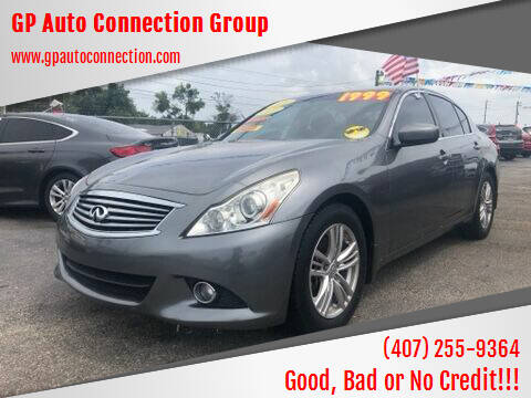 2011 Infiniti G25 Sedan for sale at GP Auto Connection Group in Haines City FL