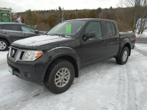 2016 Nissan Frontier for sale at Wimett Trading Company in Leicester VT