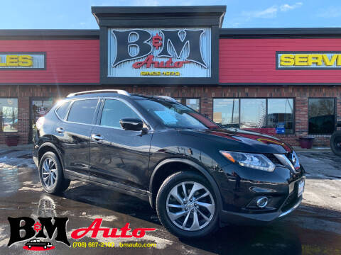 2015 Nissan Rogue for sale at B & M Auto Sales Inc. in Oak Forest IL