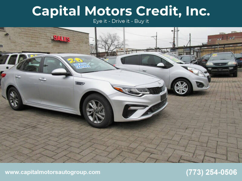 2020 Kia Optima for sale at Capital Motors Credit, Inc. in Chicago IL