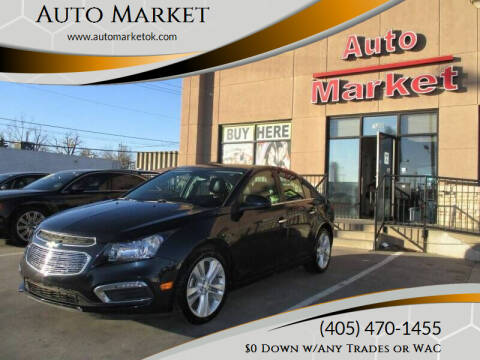 2015 Chevrolet Cruze for sale at Auto Market in Oklahoma City OK