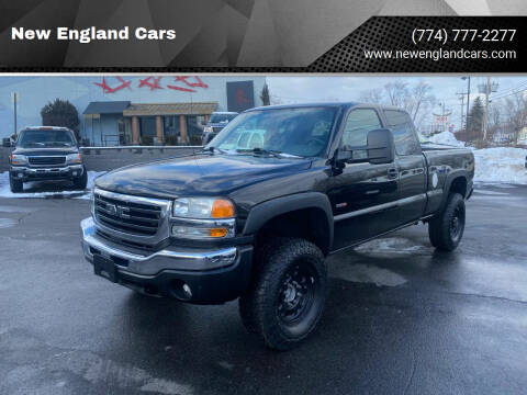 2005 GMC Sierra 2500HD for sale at New England Cars in Attleboro MA